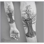 Wise Tree Tattoo