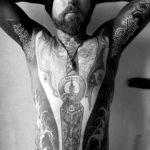 Both Armpits Tattoos