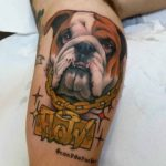 Doggy Flow Tattoo