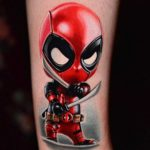 Little Deadpool Tattoo