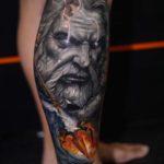 Neptune God Tattoo