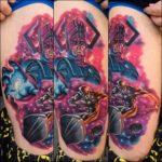 Silver Surfer Tattoo