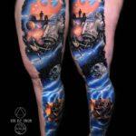 Space Star Wars Tattoo