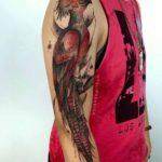 Bird Tattoo Shoulder