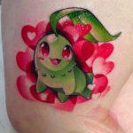 Chikorita Tattoo