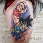 Dragon Ball Z Tattoo Goku