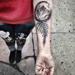 Fern Mountain Tattoo