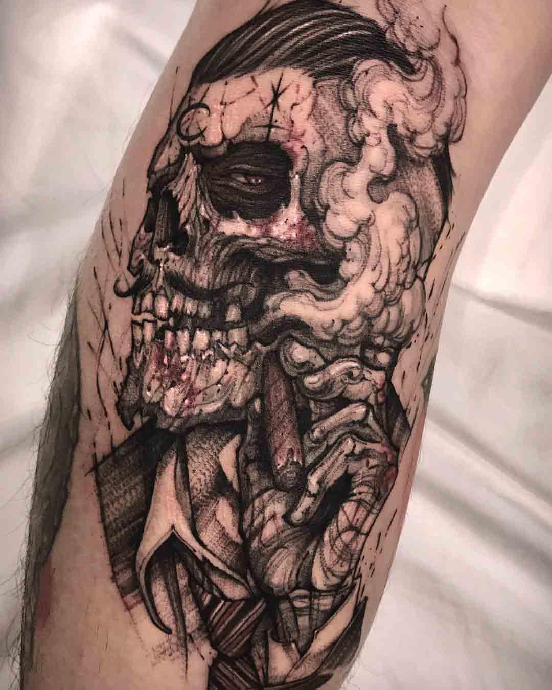 zombie gang tattoo
