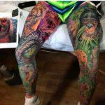 Wild Life Leg Tattoo Sleeves