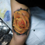 Yellow Rose Tattoos