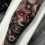 Death Goddess Tattoo