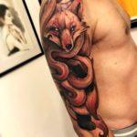 Demon Fox Tattoo