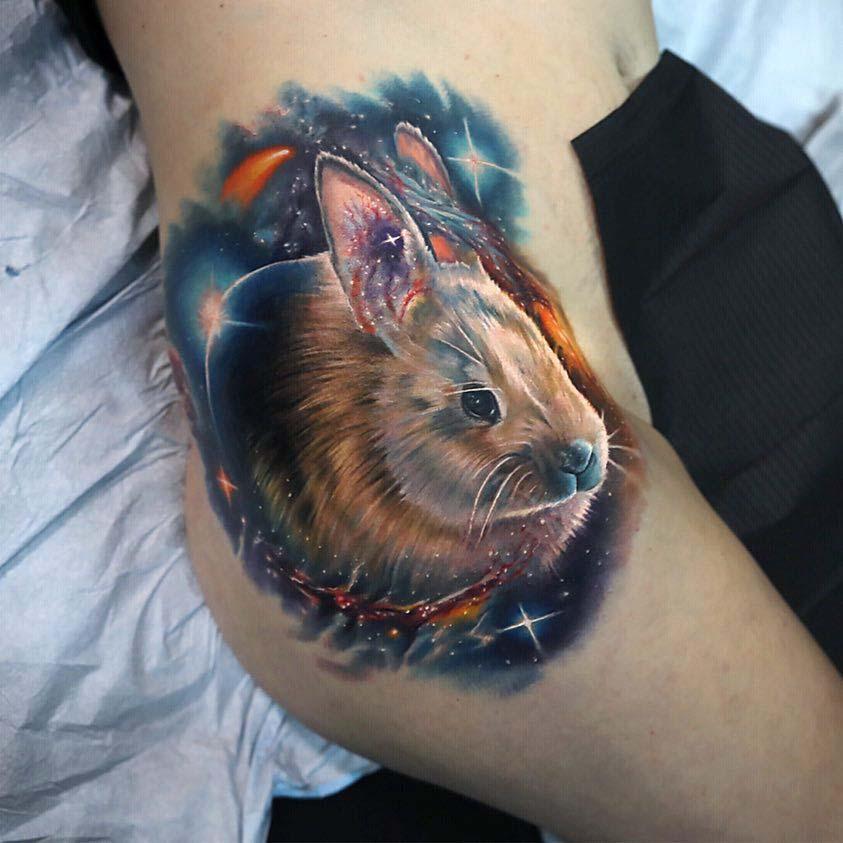 hip tattpp space rabbit
