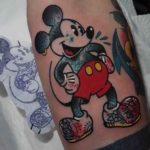 Inked Mickey Mouse Tattoo
