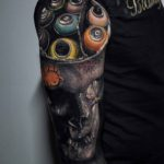 Macabre Vandalism Tattoo