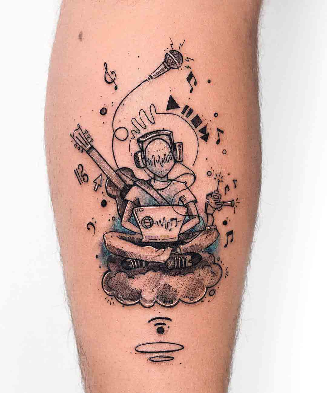 melomane tattoo music