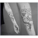 Ethnic Snake Tattoo