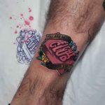 Fight Club Tattoo Soap