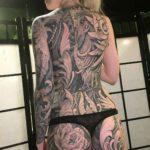 Full Back Tattoo for Girl