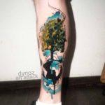 Global Tree Tattoo