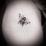 Small Bee Tattoo