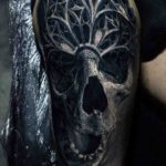 The Old Soul Tattoo Skull