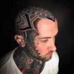 Full Head Tattoo