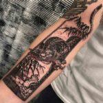 Japanese Tiger Tattoo on Arm