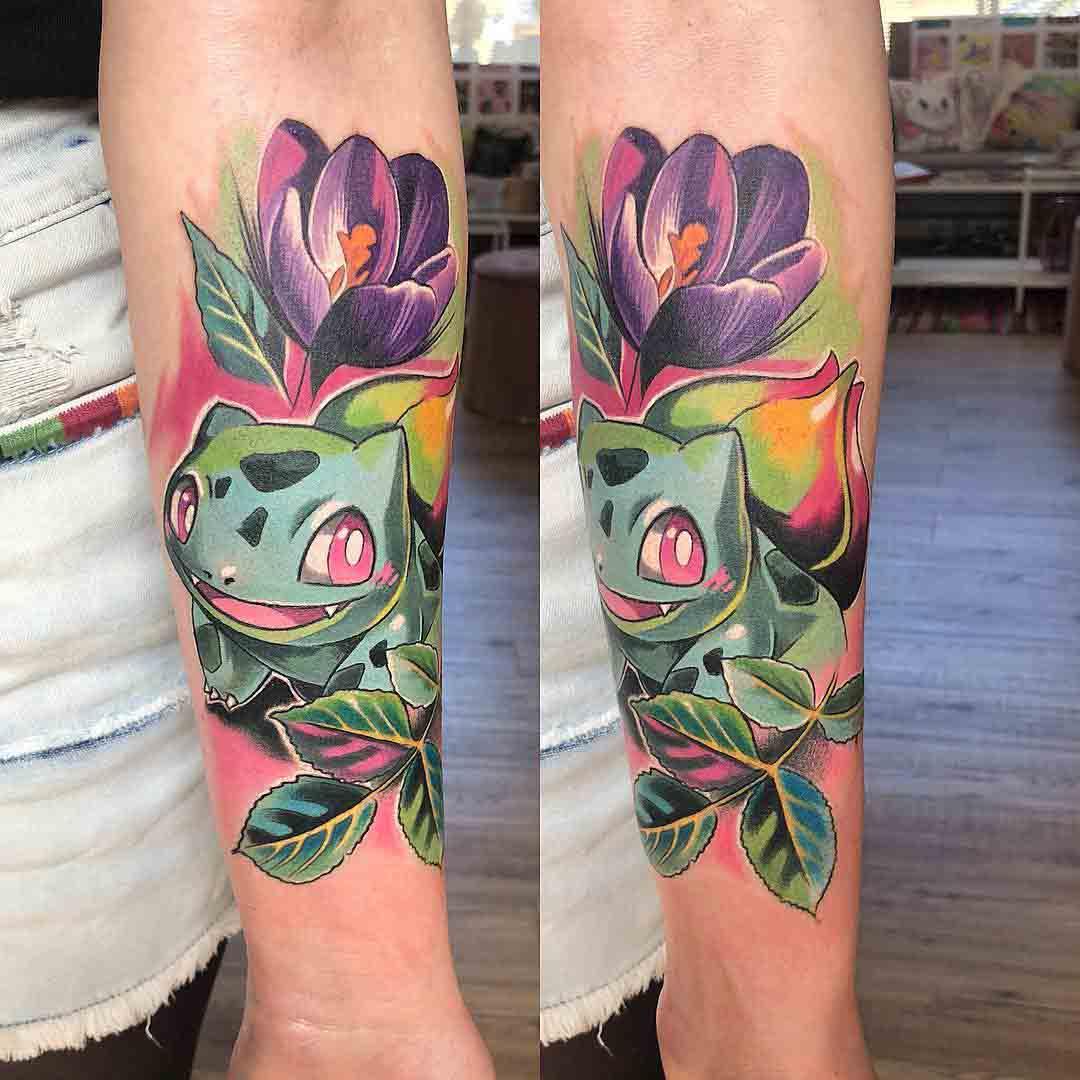 pokemon tattoo bulbasaur