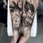Dragon Ball Z Tattoo for Couple