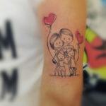 Happy Family Tattoo