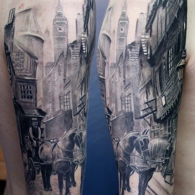 london city tattoo