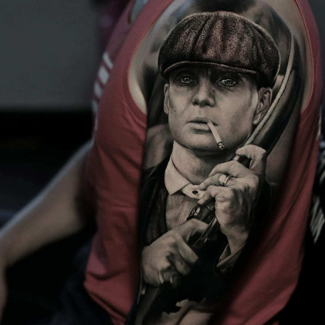 shoulder tattoo realistic