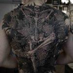 Skeleton Tattoo on Back