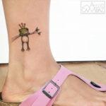 Frog Queen Tattoo