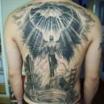 Rising Angel Tattoo