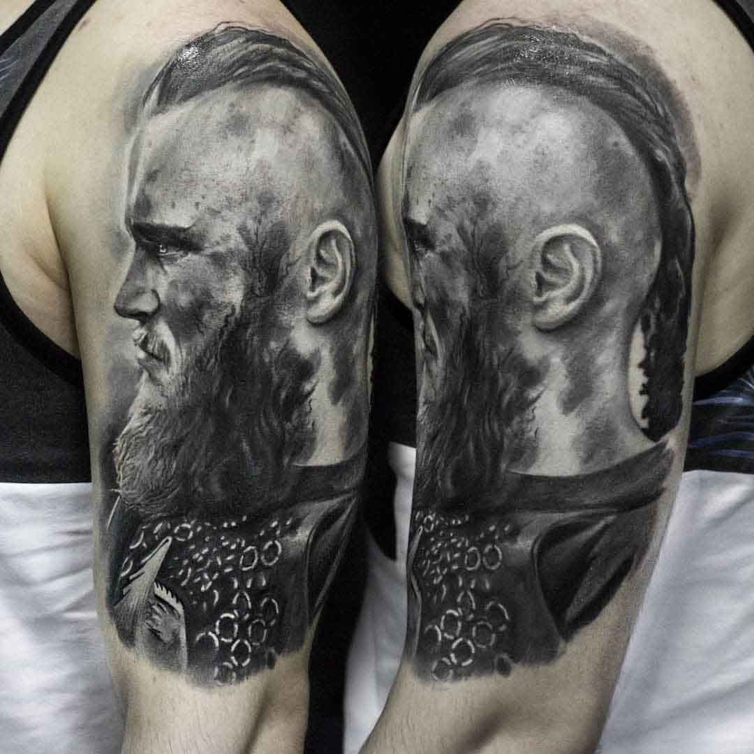 shoulder ragnar lodbrok