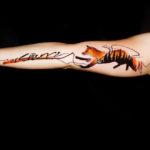 Resilience Fox Tattoo