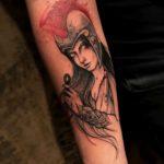 Woman Warrior Tattoo