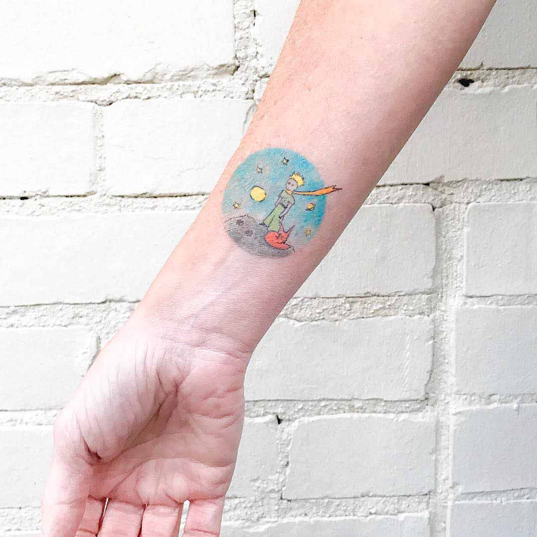 arm tattoo little prince