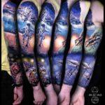 Space Walk Tattoo Sleeve
