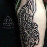 Thor's Goat Tattoo