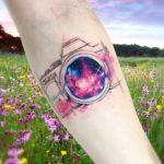 Universe Camera Tattoo