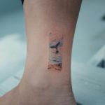 Whale Tail Tattoo