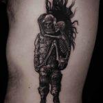 Hugging Skeletons Tattoo