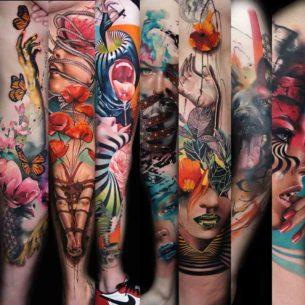 Creative Tattoo Sleeves